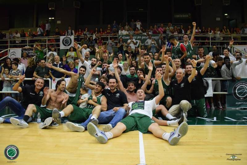La Cilento Basket Agropoli fa suo lo spareggio promozione e approda in Serie B