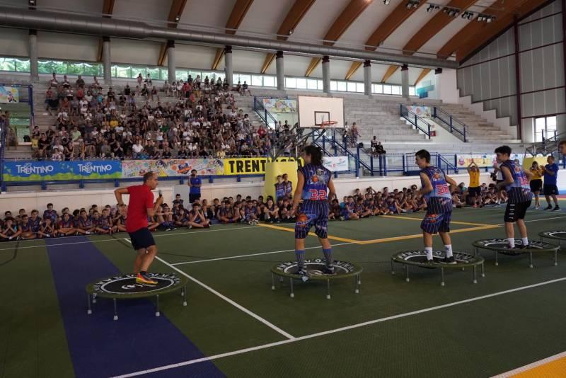 Si è conclusa alla grande anche la seconda settimana del 32° Folgaria Basketball Camp