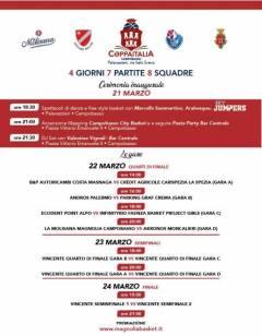 Coppa Italia 2018-19, un giovedì di avvenimenti tra Vazzieri e centro città