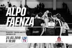 Inizia l'avventura in Coppa Italia 2018-19 per l'Ecodent Point Alpo