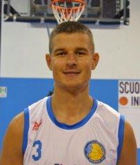 Super colpo Pescara Basket: da Molfetta arriva il cannoniere lituano Mantvydas Staselis
