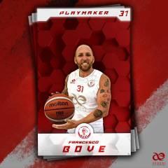 Francesco Bove #31 è un nuovo giocatore della Armeni Enterprises Assi Basket Brindisi