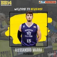 Bergamo annuncia l'arrivo di Alessandro Marra in giallonero