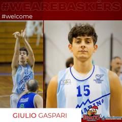 Giulio Gaspari nuovo under per la prima squadra
