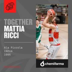 Mattia Ricci e i Baskérs ancora insieme!