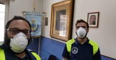 In trincea contro il Covid-19: Monteforte e Luca Lillo nuovi membri della Protezione Civile