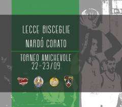 A Nardò nel week-end per il torneo Andrea Pasca