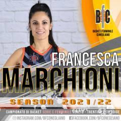 Prima conferma per la Serie C: Francesca Marchioni