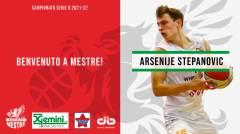Benvenuto a Mestre Arsenije Stepanovic!