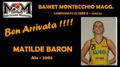 Roster 2021/22 - Nuovo innesto per il Basket Montecchio