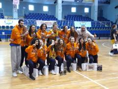 Le Under 16 del Basket Pegli vincono la seconda tappa dell'European Girls Basketball League