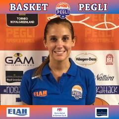 Lara Pozzato nello staff tecnico del settore femminile del Basket Pegli