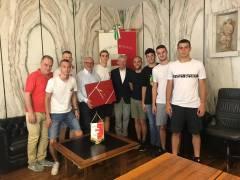 Presentato al Sindaco il progetto Basket Pool Bolzano Bozen