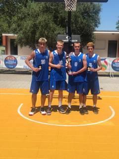 Piani Junior Basket Vicecampioni d'Italia 3x3 U18