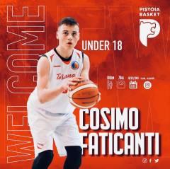Faticanti Cosimo nuovo giocatore del Pistoia Basket Academy