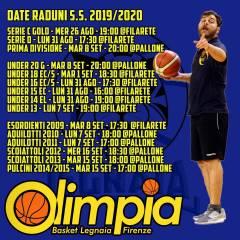 Olimpia Legnaia: raduni e orari alke