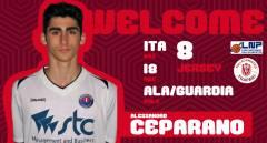 Alessandro Ceparano è un giocatore della Pallacanestro Trapani