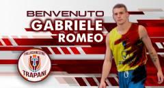 La Pallacanestro Trapani firma Gabriele Romeo
