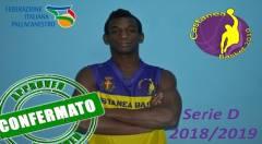 Il Castanea Basket conferma l'under Ala Diallo