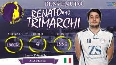 L'ala grande Renato Trimarchi s'accasa al Castanea Basket 2010