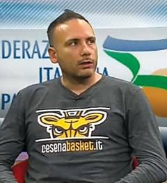Il Cesena Basket 2005 al lavoro