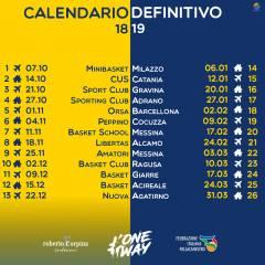 Ecco il Calendario della Serie C Silver 18/19!