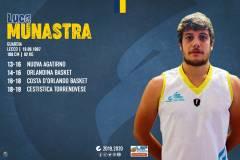 Luca Munastra rinnova con la Cestistica Torrenovese