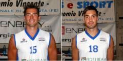 Michele Martini e Francesco Montaguti confermati nel reparto lunghi