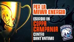 Per la Miwa Energia esordio in coppa campania contro Sant'Antimo