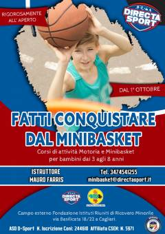 Partono i corsi Minibasket targati Directa Sport!