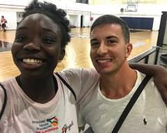 Marzia Okereke all'Elite Basket Roma. Manuel Monetti: