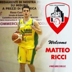 Diamo un grandissimo benvenuto nelle fila della nostra prima squadra di Serie C Silver a Matteo Ricci