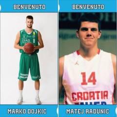 Il College si rinforza: ecco Matej Radunic e Marko Dojkic