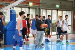 L'Italbasket Maschile Under 18 di Coach Andrea Capobianco torna in Molise