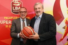 Presentata a Bari la Supercoppa 2019. Il presidente LBA Bianchi: