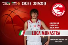 Confermato Luca Munastra: