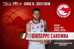 Giuseppe Caronna ancora in biancorosso: