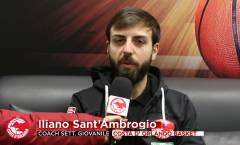 Settimane intense per le giovanili, coach Sant'Ambrogio: