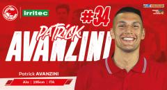 La Irritec Costa d'Orlando comunica di aver ingaggiato il giovane Partrick Avanzini
