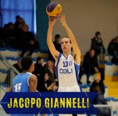 Il Cus Pisa sceglie Jacopo Giannelli