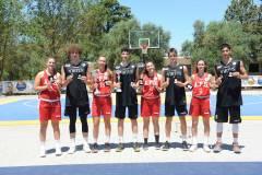 Alle Grotte di Castellana Virtus Bologna e Amatori Savona campioni d'Italia U18 3x3