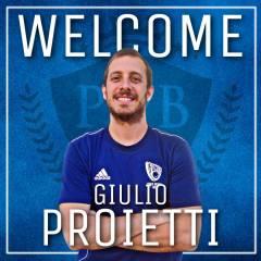 Giulio Proietti entra nello staff tecnico del Eurobasket Roma