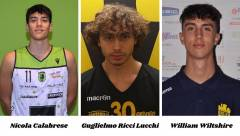 Cala, Gughi e Willy: talenti in rampa di lancio