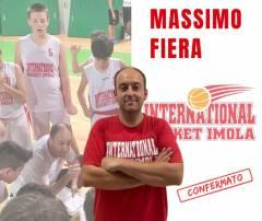 Una vita in biancorosso: Massimo Fiera e l'International ancora insieme