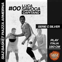 Luca Savoca è il nuovo capitano della Siaz Basket