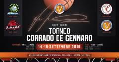 Sabato 14 e Domenica 15 Settembre di scena l'edizione 2019 del Torneo Corrado De Gennaro