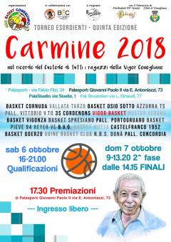 A Conegliano tutti a Canestro per il Memorial Carmine
