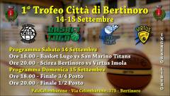 Nel weekend la prima edizione con Scirea Bertinoro, Basket Lugo, Titans San Marino e Virtus Spes Imola
