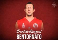 Daniele Benzoni ritorna ai Knights