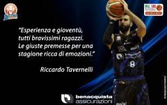 Tavernelli: «Le giuste premesse per una stagione ricca di emozioni»
